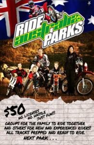 Ride Australia Parks